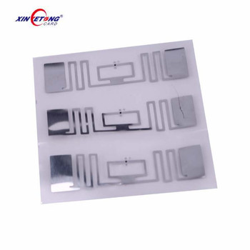 860~960Mhz UHF EPC GEN2 RFID adhesive tag/sticker/wet inlay/ long range logistic tag