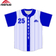 Sublimation custom mens dri fit stripe american flag baseball jersey