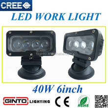 New 4D Lens 40W Led Work Light Bar Spot beam Offroad Truck 4WD driving work light