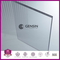 3mm MR5E scratch resistant solid polycarbonate sheet