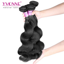 Wholesale china factory unprocessed 100% virgin bazilian human hair