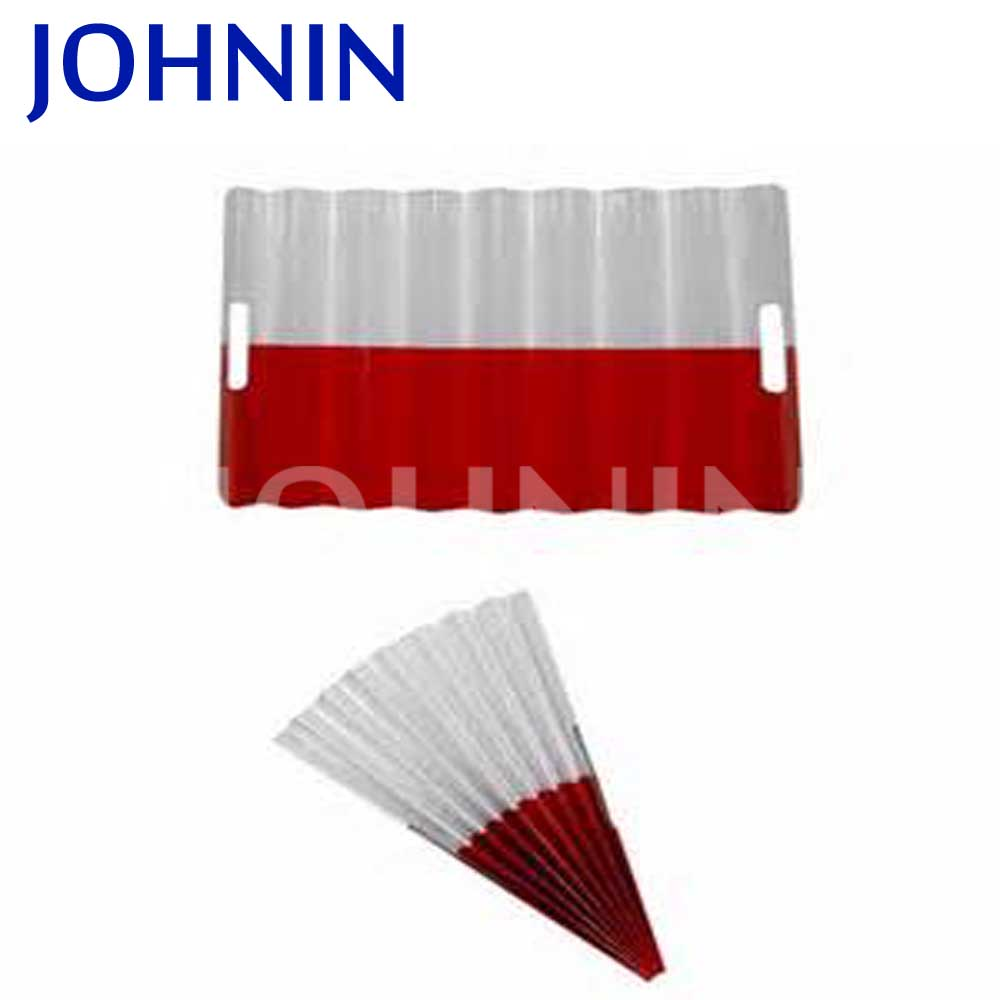 Promotional customized logo foldable fans clap banner for activity
