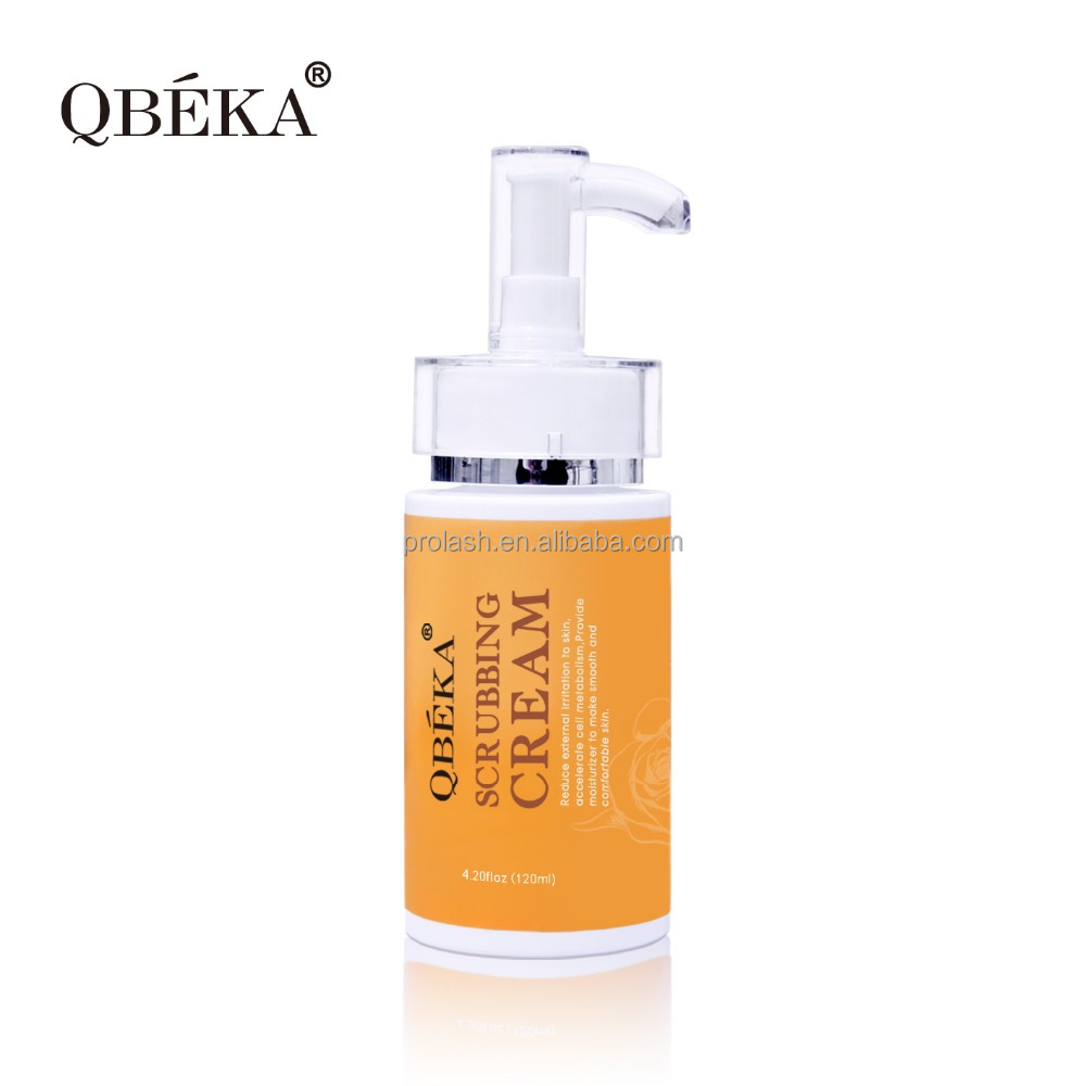 Deep cleansing nourishing face skin care products beauty care face out QBEKA Scrubbing Cream