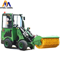 Hot and new snow plow hydraulic pto floating boom wheel type loader for snow cleaning