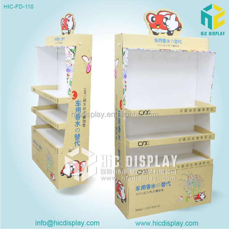 free sample paper doll stands corrugated toys display shelf