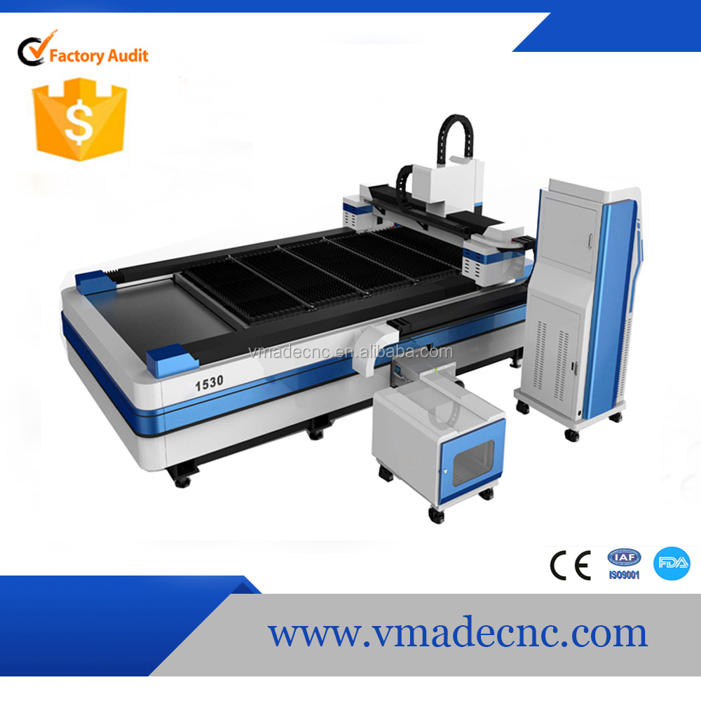 500w 1000w DSP system 3000*1500mm IPG Laser Source fiber metal laser cutting machine with Aluminium casting X beam price