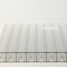 colored polycarbonate sheet roof covering plastic 10mm Twin Wall polycarbonate hollow sheet