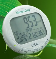 AZ7788 3-in1 Desktop Indoor Air Quality Temperature Humidity RH Carbon Dioxide CO2 Monitor Clock calendar 0~9999ppm