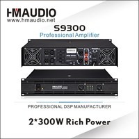 S9300 Professional power Amplifier 300W of sound system