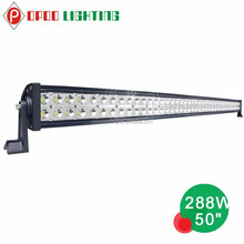 Wholesale Epistar 4x4 288w truck light bar cheap led light bars in china