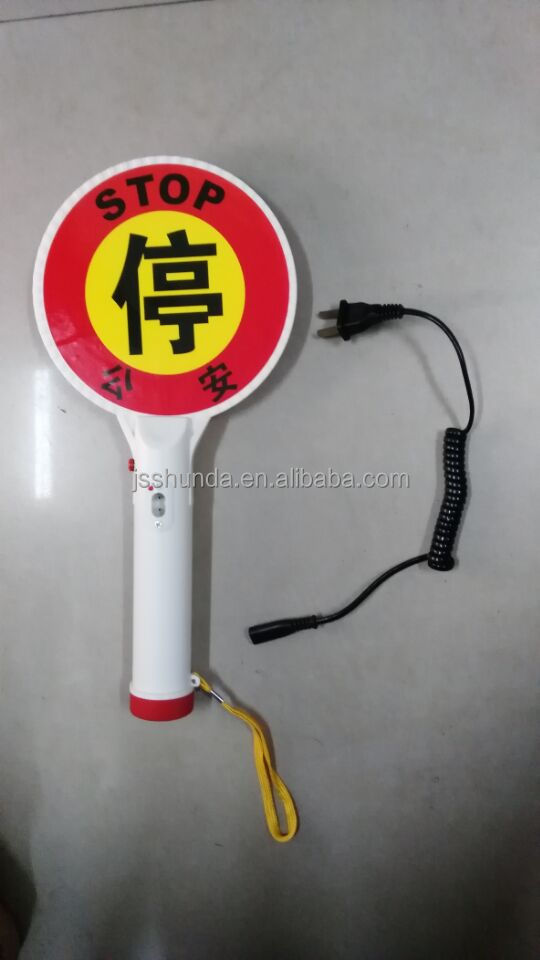 reflective traffic signal for police traffic