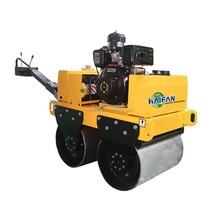 500KG mini double drum road roller