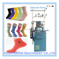 Full Computerized Selected Terry Jacquard Socks Knitting Machine automatic
