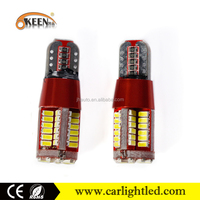 12v 5w 3014 57smd led car bulb auto w5w t10 smd led automobile dome reverse light bulb canbus