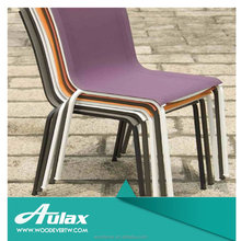 French garden furniture metal patio furniture parts steel frame chair