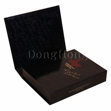 Magnetic Gift Packaging Glossy Rigid Paper Custom Cardboard Cigarette Box