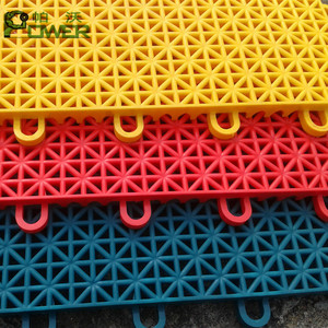 Wholesale pp plastic mat tiles interlock pp floating floor