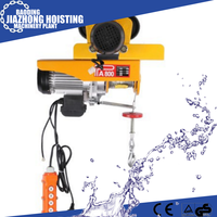 European style wire rope electric hoist with imported components