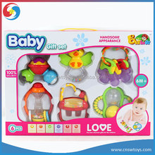 6pc suit toys baby animals hand bell toy for baby 0-3 years old LS3403789