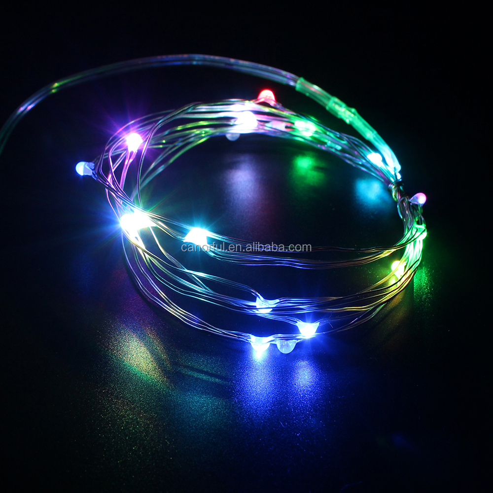 Canorful Holiday Color Changing Firework Lights Led Copper String Light - Buy Led Copper String ...
