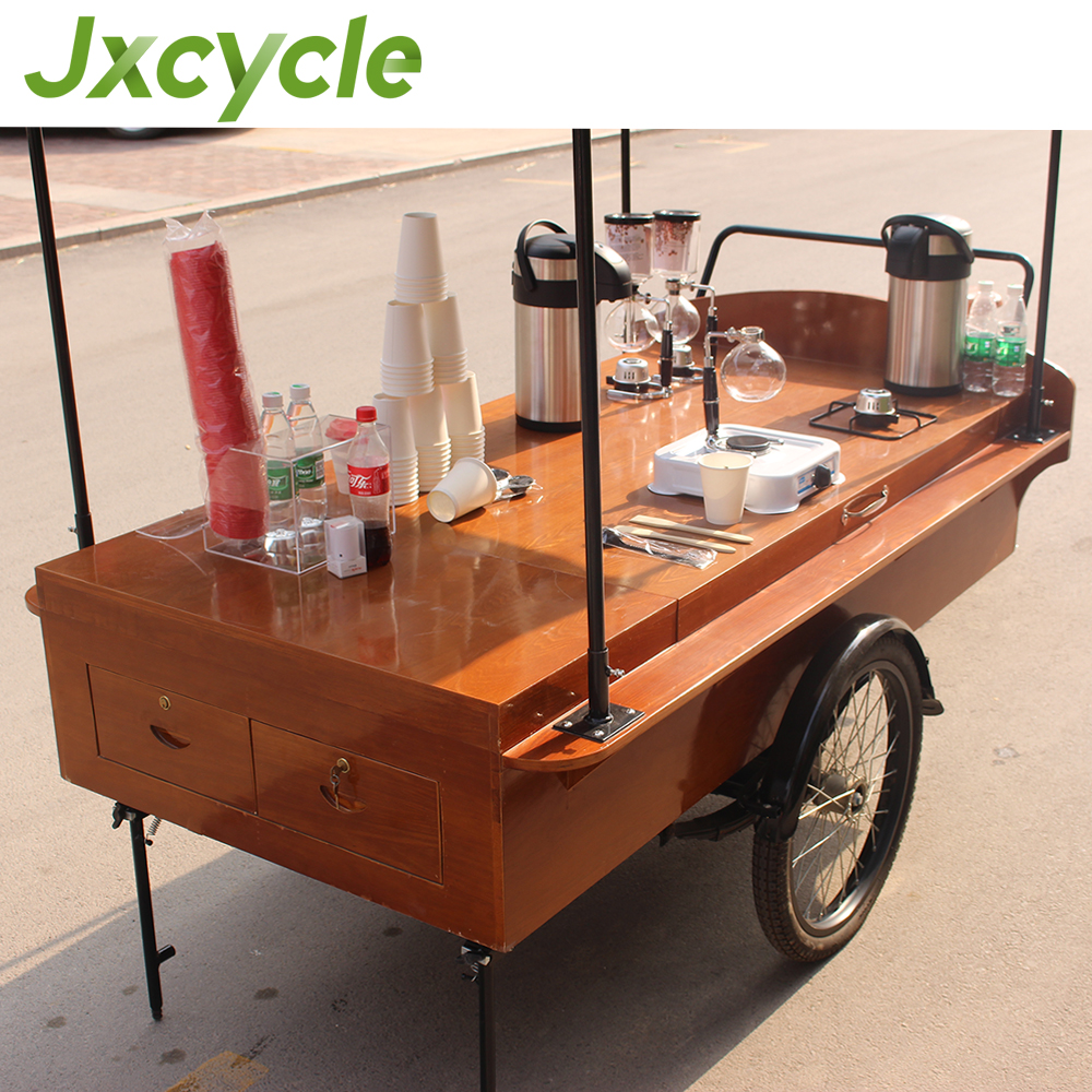 Retro Mobile Electric Coffee Bike/Coffee Tricycle For Sale