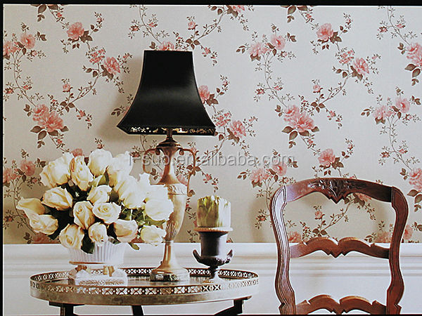 numerous in variety Top quality cheap glitter wallpaper PVC wallpaper