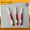 High conductive low bleed small white syringe silicone thermal conductive grease heatsink compounds for computer PC CPU
