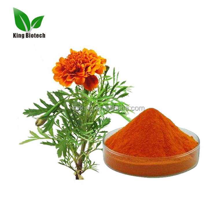 100% Natural Marigold Petal Extract High Quality 10% 20% Lutein Marigold Extract Bulk For Sale