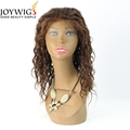 Hot,new style10A grade natural wave color brown Glueless Indian Human Hair Full Lace Wig