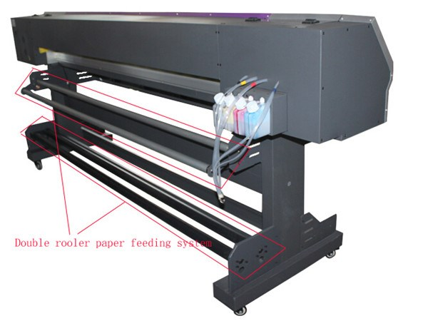 Made in china 1.8m wide format eco solvent printer price