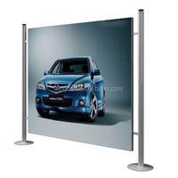 Jumbo banner stands,jumbo stands,advertising equipment