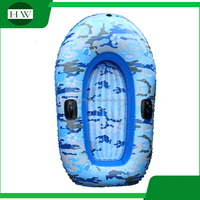 eco-friendly children kids camouflage inflatable kayak canoe boat water toy tool