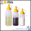 Top quality custom soy plastic sauce bottle for kitchen use