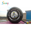 PVC Or Nylon Customized Size Inflatable Tire Model For Decoration /Advertising