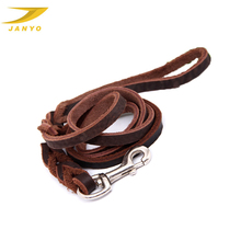 Hight quality leather straps for dog leash
