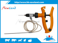 5 ml Adjustable continuous injector continuous veterinary vaccinator for pigs cow sheep