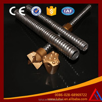 LUHUI R38 slope protection Hollow drill bar