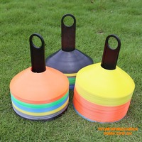 2 Inch Soft PE Unbreakable Soccer and Football Training Rubber Plastic Sports Cones
