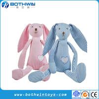 100% cotton fabric handmade Zoo animal rattles baby toys