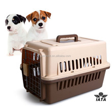 small plastic pet transport cage dog carrier