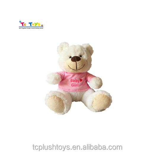 Promotional Hot Sale Baby Plush Teddy Bear Toys for Baby Girls