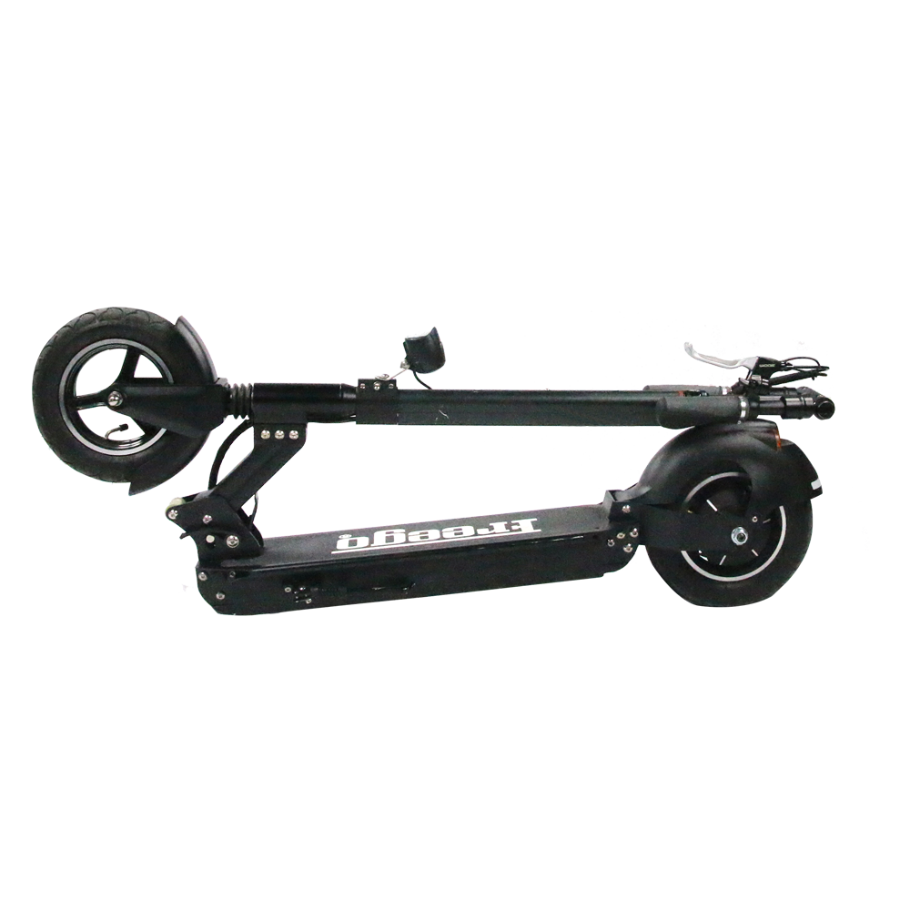 Freego ES-10S 500W 48V 10 inch standing up electric scooter with 2 wheel suspension electric scooter foldable for sales