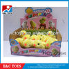 cute wind-up plush jumping chicken HC192994