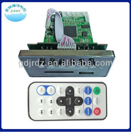 Made in China and good quality JR-P003 mp5 usb video player circuit