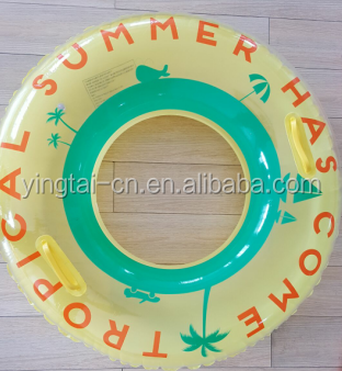 6000pcs stock China supply PVC inflatable tube /swim ring/inflatable aviva water toys