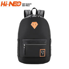 2018 fashion Camping Journey Bag school men leather laptop backpack
