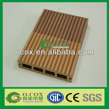 Europe Standard Outdoor Wood Plastic Composite WPC Hollow Decking