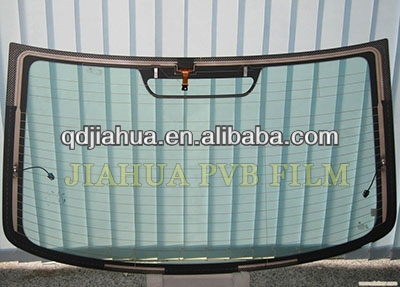 pvb film in car windshield/side glass with ISO9001