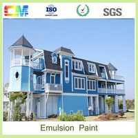 Building washable anti alkali weather resistant acrylic epoxy emulsion latex uv coating liquid
