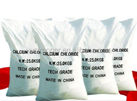 Tech grade calcium chloride plant from China